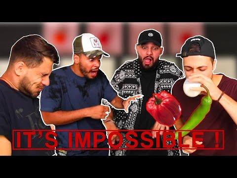 Berywam - Hot Pepper And Beatbox Challenge