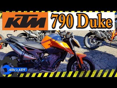 KTM  Duke first impression / review