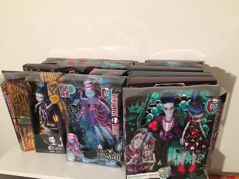 OUR BLACK FRIDAY 2015 TOY HUNT AND MONSTER HIGH DOLL HAUL