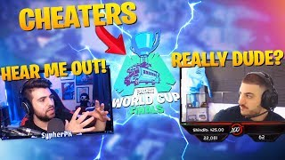 Why I WANT Cheaters To Qualify For The World Cup!? ft. Nickmercs (Fortnite Battle Royale)