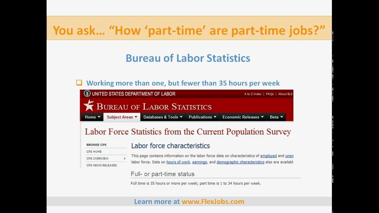How Many Hours are Part-Time Jobs, Part-Time Job Hours, Part-Time ...