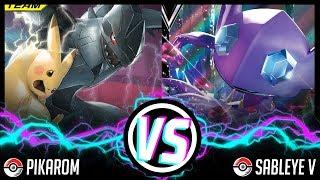 **NEW** Sableye V vs Pikarom! Sword and Shield Format