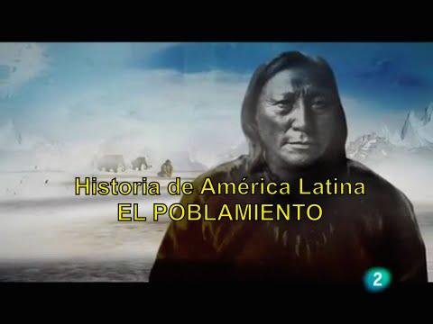 Historia De America Latina: 1.El Poblamiento.