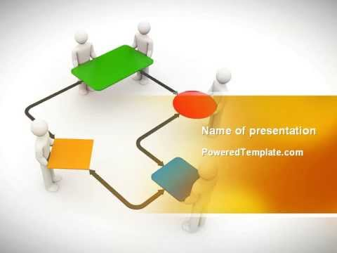 block diagram powerpoint template by. Black Bedroom Furniture Sets. Home Design Ideas