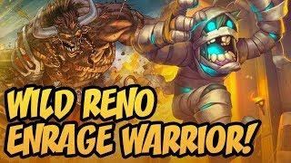 Wild Reno Enrage Warrior!   Saviors of Uldum   Hearthstone