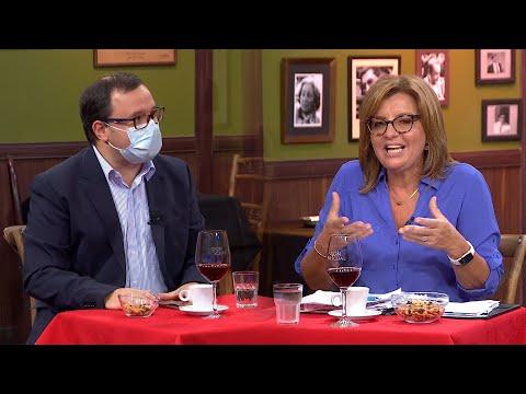 Felipe Schipani y la Dra. Alejandra Rey