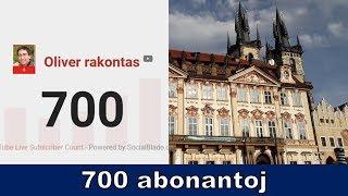 700 abonantoj kaj mi revenis de Prago | Esperanto vlogo