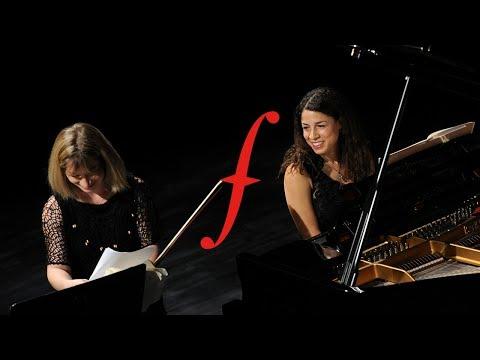 Flâneries Musicales 2014 | Amanda Favier et Célimène Daudet