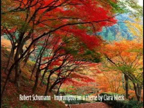 Robert Schumann - Impromptus on a theme by Clara Wieck