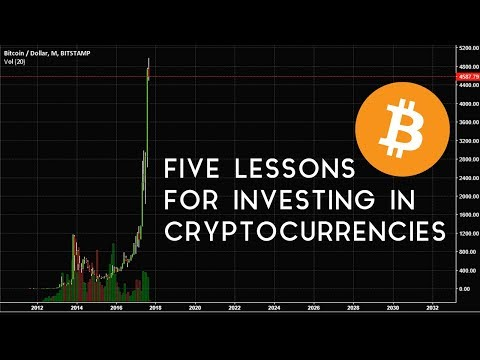 Five Lessons For Investing In Cryptocurrencies
