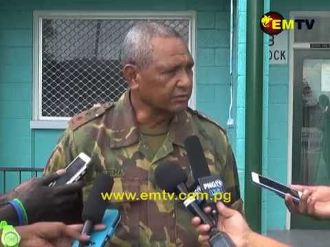 PNG Defence Force Deployed to Assist Earthquake-affected Areas