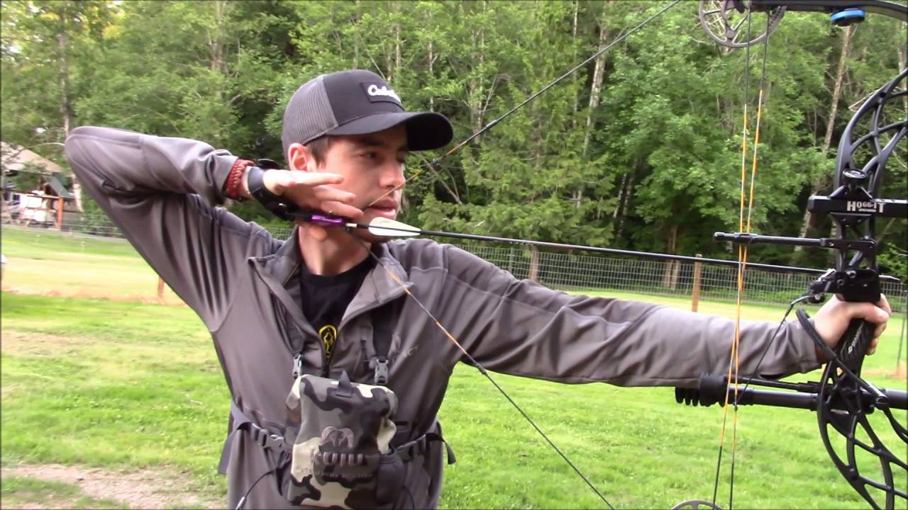 how to shoot a compound bow video