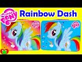My Little Pony Rainbow Dash Tin Activity Set