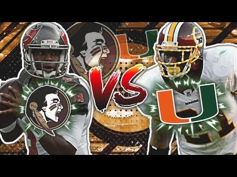 Florida State Alumni vs. Miami Alumni   Madden NFL College Alumni Tournament