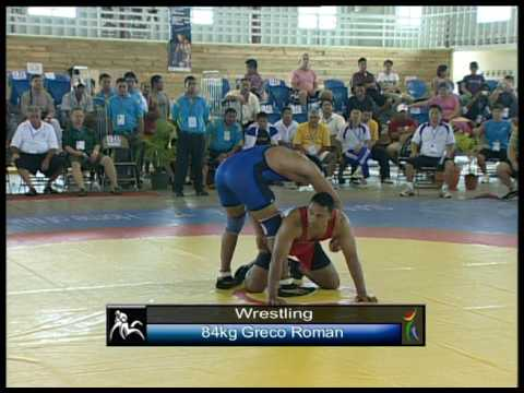 South Pacific Games 2007 Athletics and Wrestling highlights