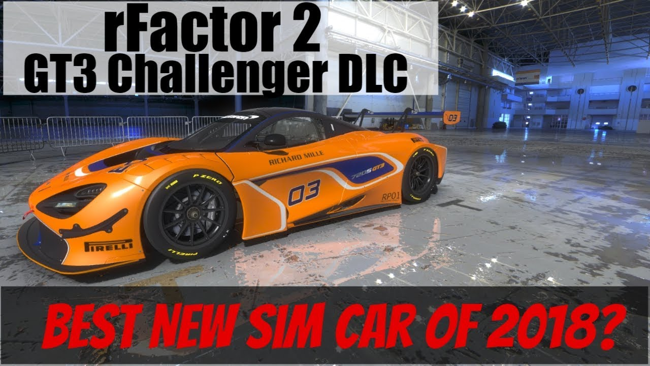 rFactor 2 GT3 Challengers Pack Released! VR Tests of Each Car at Mugello