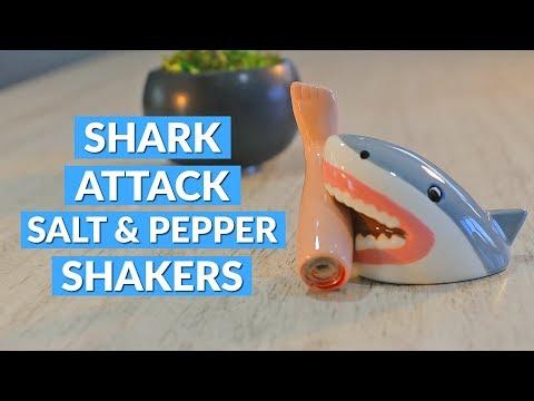 Shark Attack Salt & Pepper Shakers