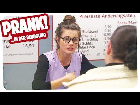 PRANK | REINIGUNG | Verstehen Sie Spaß | Joyce