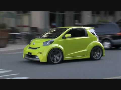 Scion Iq Concept Driving Footage Youtube