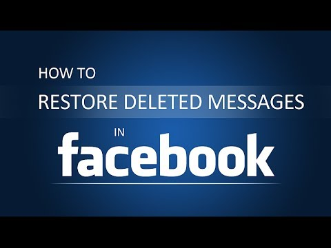 how to read deleted messages on facebook