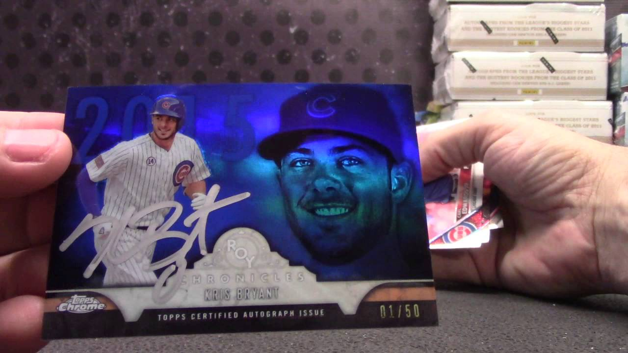 Bretts 2016 Topps Chrome Jumbo Baseball Box Break