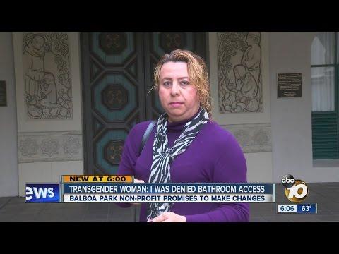 Transgender woman denied bathroom access inside Balboa Park