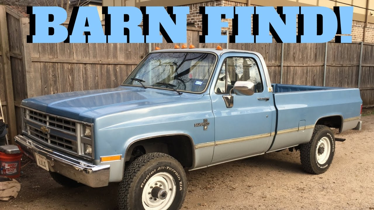 BARN FIND! 1986 CHEVROLET K30 | Original & Unrestored Squarebody Survivor!