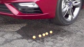 FOX Car Report - Car that can 'jump' potholes