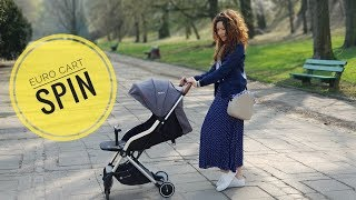 Euro-cart Spin - mały wózek spacerowy idealny w podróż | review