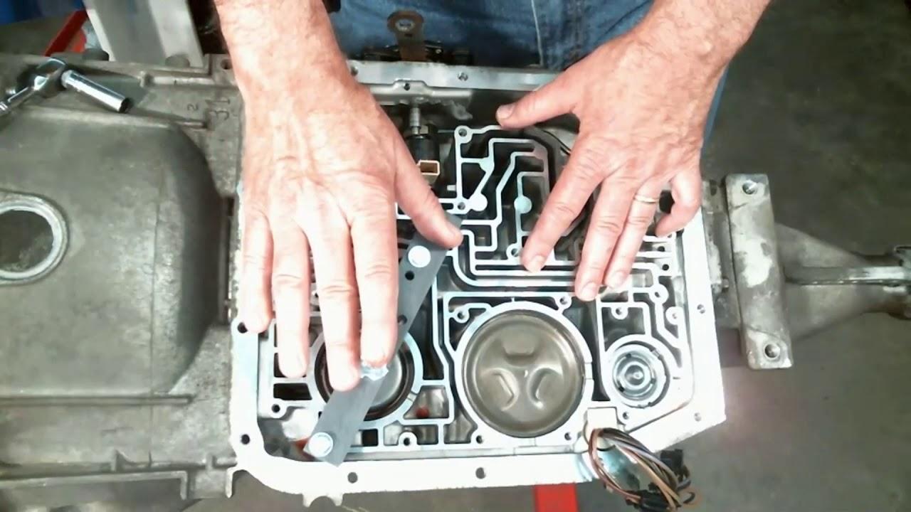 How to use BadShoe's AODE/4R70W Servo & Accumulator tool