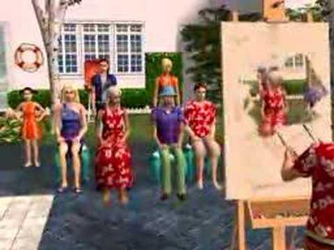The Sims 2 Family Fun Stuff Game Trailer