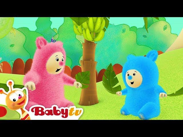 Billy BamBam | Banana leaves | BabyTV