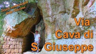 Via cava di S. Giuseppe - Tesori archeologici della Toscana
