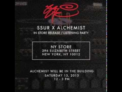 "The Alchemist ""SSUR EP"" 