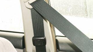 ремень безопасности зимой. Как правильно использовать?