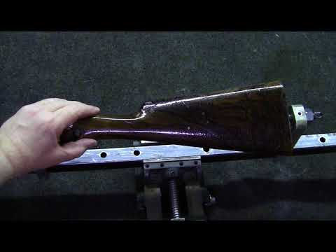 SXS  SHOTGUN STOCK MFG. PART 61 STOCK FINISHING