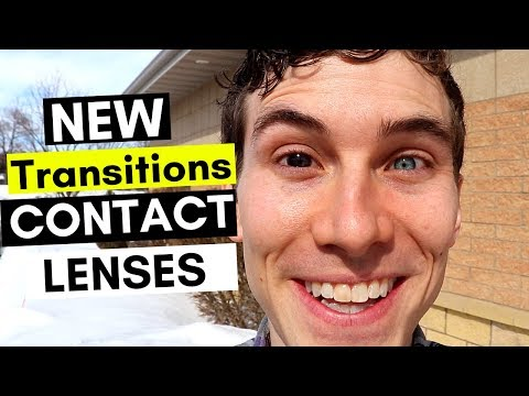 Transitions Contact Lens - Unboxing New Acuvue Oasys Transitions Contacts