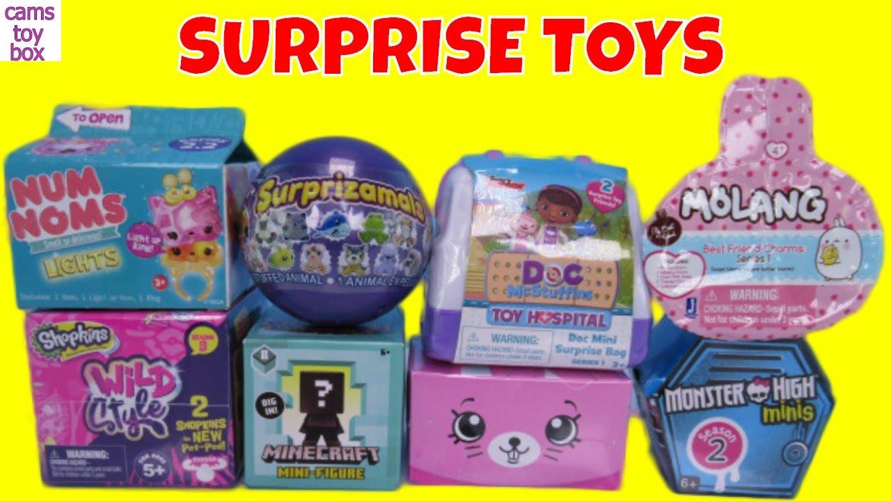 Toy Surprises Molang Num Noms Lights Monster High Doc