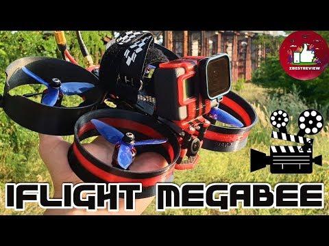 Фото ✔ FPV Квадрокоптер iFlight MegaBee - Революция в Аэросъемке! Шах и Мат DJI!