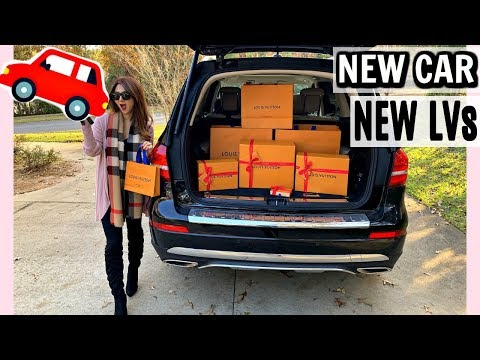 FINALLY NEW CAR 🚗 AND NEW LOUIS VUITTON REVEAL 🙌🏼   CHARIS ❤️