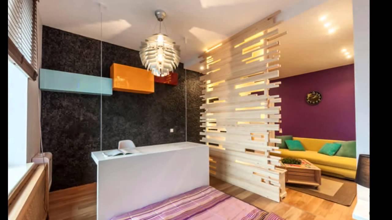 гостиная и кабинет в одной маленькой комнате фото