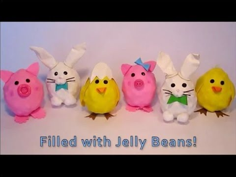 Diy easter crafts for kids easter gift bags treats diy goodie diy easter crafts for kids easter gift bags treats diy goodie bags youtube negle