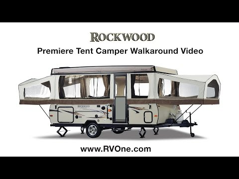 Rockwood Premiere Tent Camper Walkaround Video