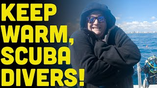Keep Warm Scuba Divers! PLUS Surf Fur Waterparka Review PLUS Exciting News From Jennifer Idol!