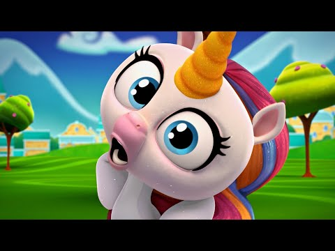 Fingerlings Tales | Gigi The Unicorn Tries to Keep a Secret | Unicorn Cartoon for Kids | Funny Video