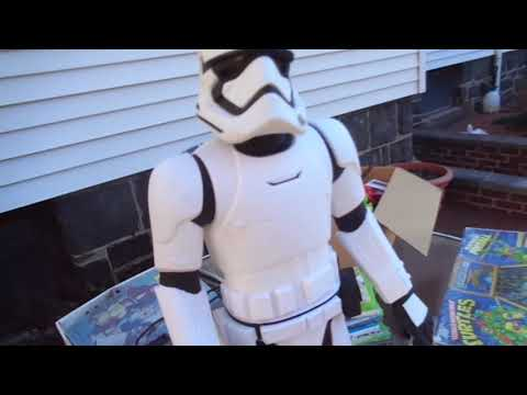 Video Games He-Man Action Figures Toys + Flea Market Garage Yard Estate Sale Finds Pick-Ups 12/7/17