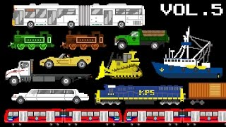 Vehicles Collection Volume 5 - Railway, Water...