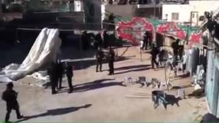 بالفيديو: الاحتلال الإسرائيلي يغلق جبل المكبر ويواصل حملة المداهمات فيها