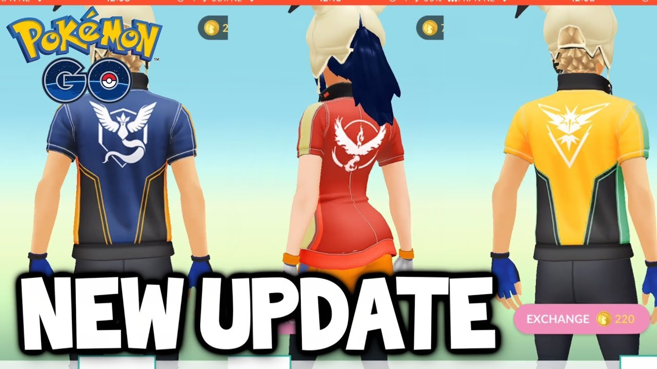 24c981ad THE POKEMON GO UPDATE YOU'VE ALL BEEN WAITING FOR... new clothes Oh well.  Let's review them anyway!