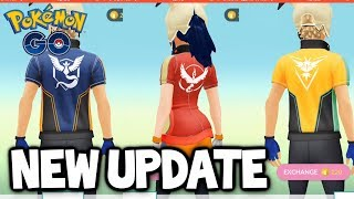 THE POKEMON GO UPDATE YOU'VE ALL BEEN WAITING FOR... new clothes Oh well. Let's review them anyway!